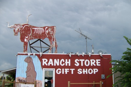 Gift shop on the edge of the Badlands.