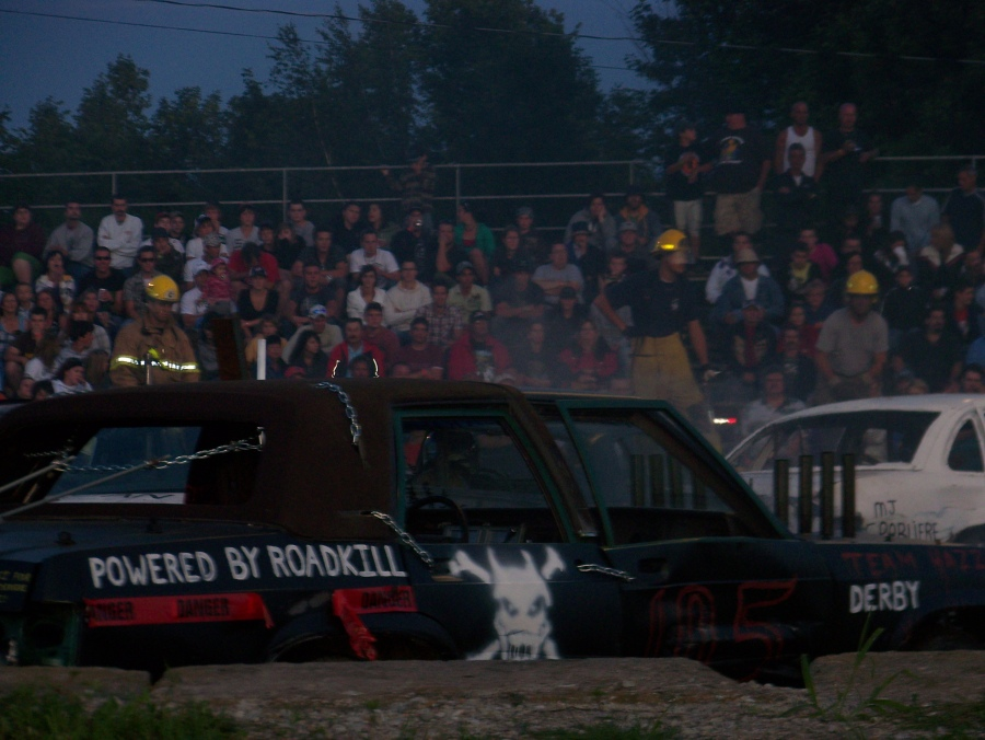 Powered by roadkill at the St Chys derby