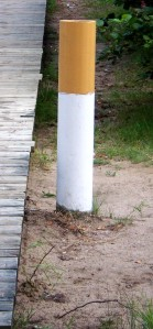 An ashtray shaped like a cigarette! Brilliant!