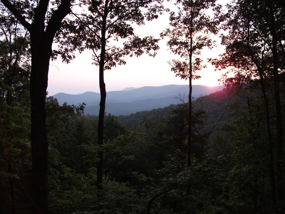 Blue Ridge Mountains, Georgia.