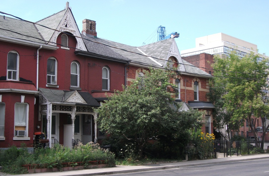 Rowhouses are my favourite thing about Toronto.