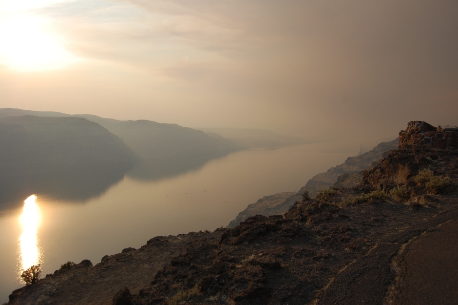 Almost through the mountains: The Columbia River through Trev's lens.