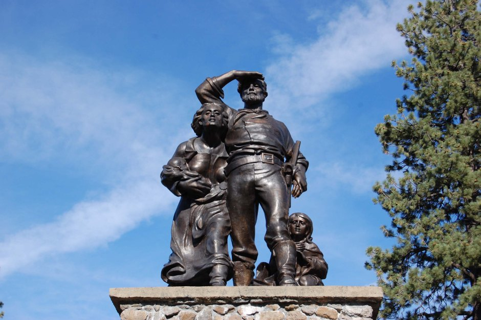 Donner Party State Park memorial