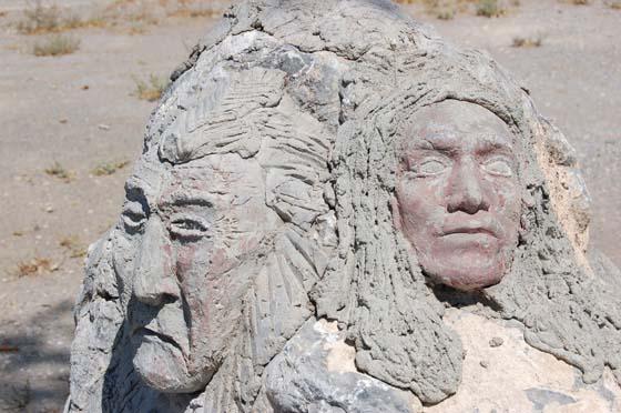 Thunder Mountain Monument, Nevada