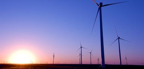 Smoky Hills wind farm photo courtesy of Enel Green Power.