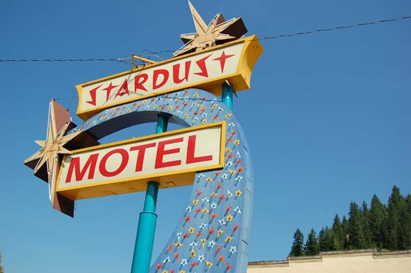The Stardust Motel in Wallace, Idaho, had a definite Supernatural feel to it.