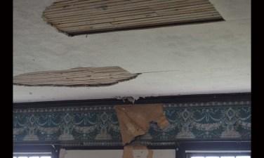 Next up on the province's restoration wish list is repairing the wallpaper in Mrs. Van Horne's bedroom.