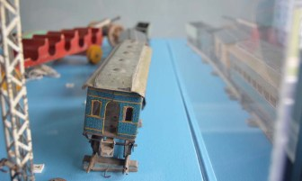Billy was Van Horne's beloved grandson. Of course he had intricate metal trains to play with.