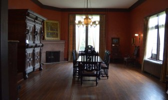 In this room, Benny died of liver failure. His funeral was also held in this room.