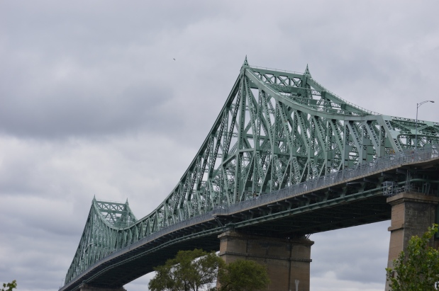 The Jacques Cartier Bridge - the best way to get onto Ile Ste. Helene - was opened in 1930.