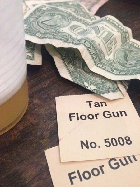 floor gun raffle