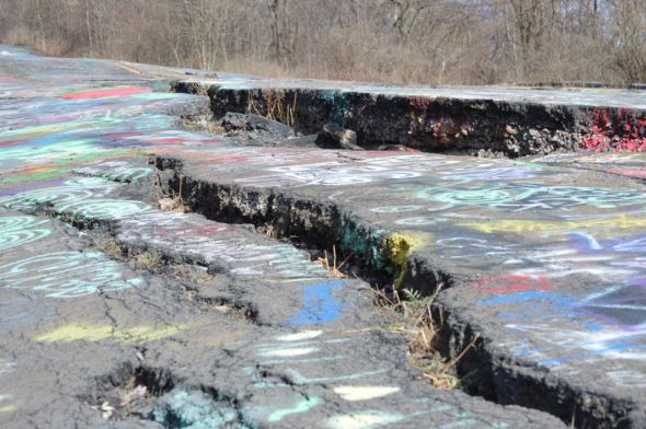 Centralia graffiti highway10