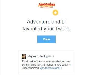 adventureland tweet