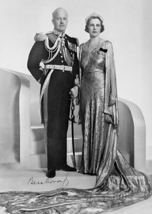 The earl and countess of Bessborough.