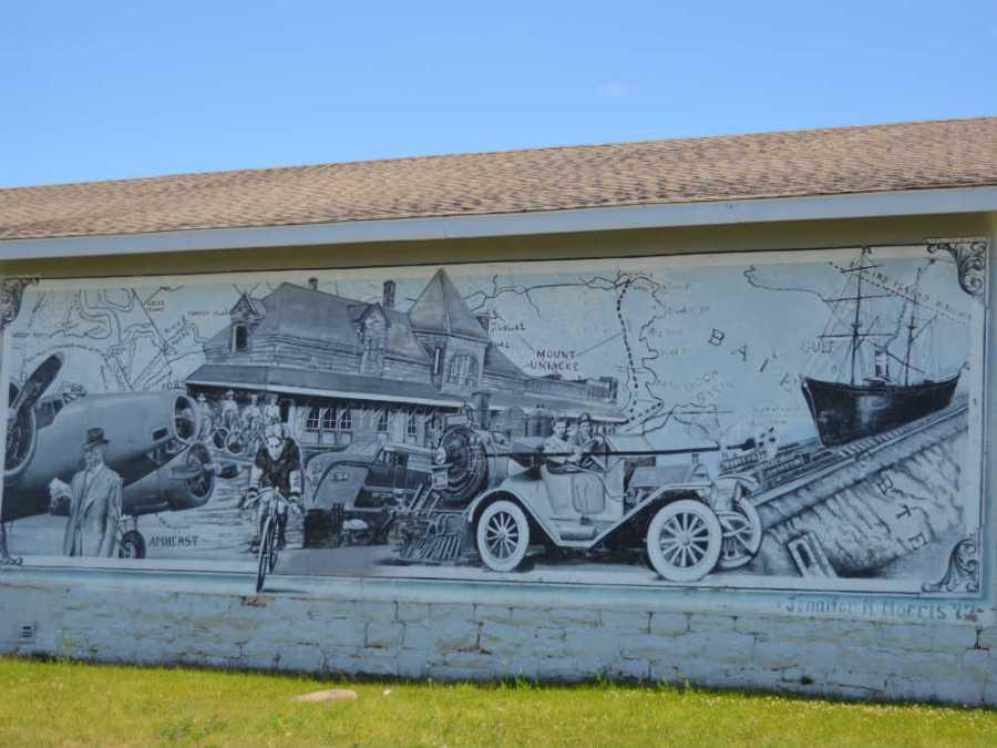 amherst nova scotia mural
