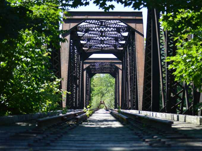 north anson rail bridge