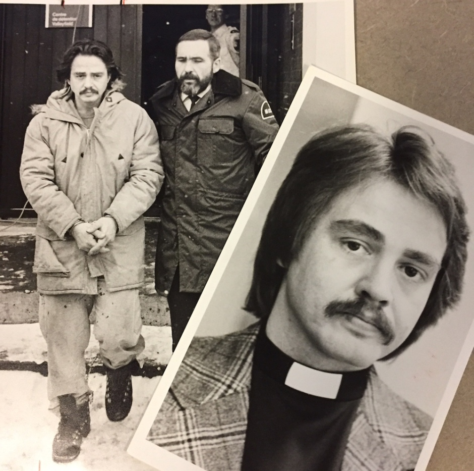 These images of Raymond Steele were provided courtesy of the Montreal Gazette.