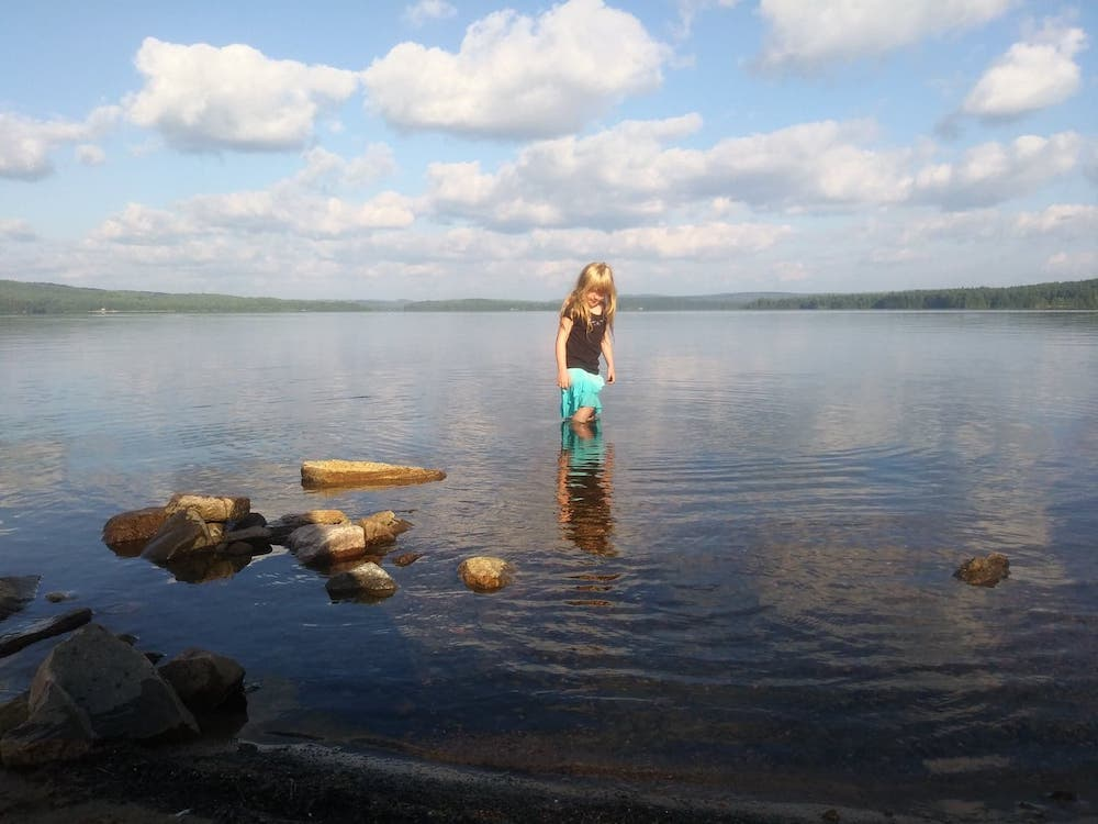 Jillian at Cedar Lake. Photo courtesy of Melani Litwack